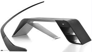 Futuristic Office Desk Aston Martin Office Furniture Wordlesstech