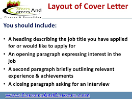 cover letter for applying job cover letter sample for job