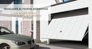 puertas de cocheras automaticas aver祗a de puerta de garaje servicio tecnico