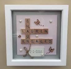 wedding gift craft ideas 26 best dreams images on box frames scrabble tiles