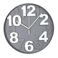 horloge cuisine horloge murale design horloge murale design d argent with