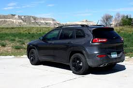 jeep cherokee black 2015 first drive 2015 jeep cherokee altitude
