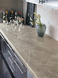Tile For Kitchen Countertops by Cheap Versus Steep Kitchen Countertops Hgtv