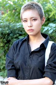 shaved japanese hairstyle harajuku style pinterest japanese