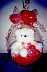 balloon with gift inside wrapping ideas