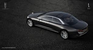 gmc sedan concept hyper futiristic polish varsovia concept car could be produced
