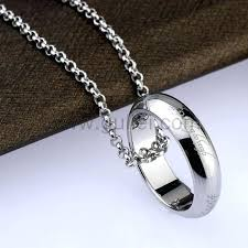 ring necklace with names images Male necklace bosli club jpg