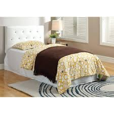 headboards twin upholstered headboard and footboard twin trundle
