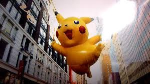 macys thanksgiving day parade balloons macy u0027s thanksgiving day parade pikachu balloon by salamencecake