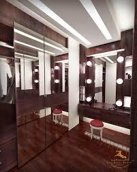 luxury bedroom design with walkin closet