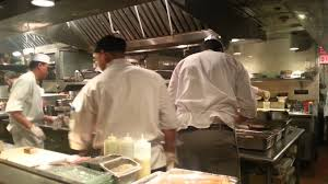 Professional Kitchen Catch New York Open Kitchen On A Busy Night Youtube