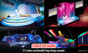 concert lighting design schools 25 creative and beautiful stage design exles from around the world