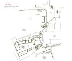 site plan cottages layout compton pool