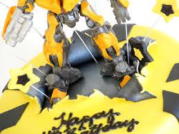 transformer cake transformers bumblebee cake renee cake design
