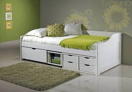 Pull Out Bunk Bed Daybed With Trundle Drawers In Cherry Daybed With Guest Bed