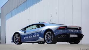 Lamborghini Huracan Blue - bbc autos lamborghini dispatches huracán polizia