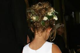 flower girl hair lovely flower girl hair styles hairstyles see and learn
