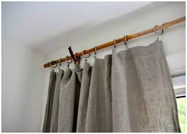 10 diy curtain rods and creative window treatments somewhat simple