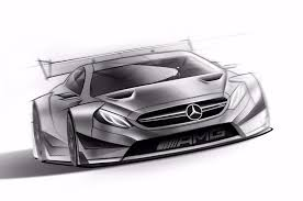 2016 mercedes amg c63 coupe dtm racer revealed in sketches photo