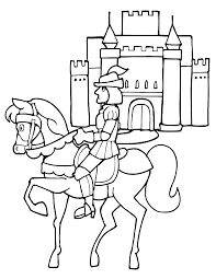 knights coloring pages