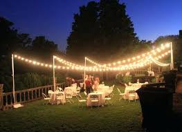 diy lighting for wedding backdrop heres a great wedding inspired