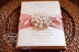 Wedding Invitations With Ribbon Cool Elegant Wedding Invitations With Ribbon 29 For Your Wedding