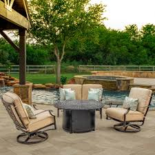 furniture black wrought iron patio furniture with beige cushions