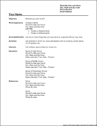 blank resume sample professional blank resume template 10 blank