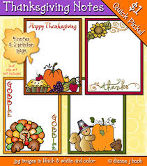 thanksgiving note cards with clip by dj inkers dj inkers