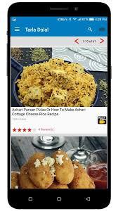 recipe apk tarla dalal recipes 5 4 apk android lifestyle apps