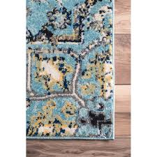 Abstract Area Rugs Nuloom Modern Vintage Vintage Abstract Area Rug 5 X 7 5 5 X