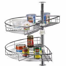 lazy susan revolving magic corner kitchen cabinet organizer