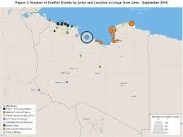 Map Of Libya Libya U2013 October 2016 Update U2013 Acleddata U2013 Crisis