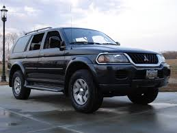 mitsubishi montero sport xls 2002 only difference between this