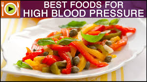 best foods for high blood pressure healthy recipes youtube