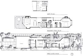 Bi Level Floor Plans With Attached Garage by Narrow Lot House Plans With Loft