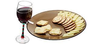 mariva com buffet plates u0026 wine glass holders
