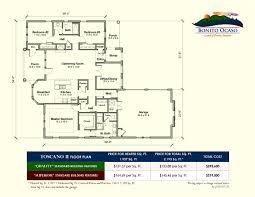 Single Family Homes Floor Plans by Custom Built Floor Plans Bonito Ocaso Asheville Nc