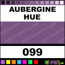 aubergine colours acrylic paints 099 aubergine paint