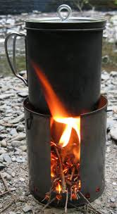 make your own fancy feast stove twig stove hybrid andrew skurka