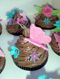 sugar siren cakes mackay bright butterfly flower 1st birthday