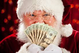 how much money would santa claus make