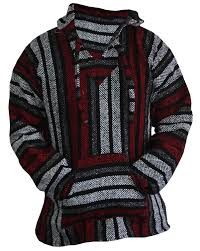 baja sweater amazon com baja hoodie sweater jerga pullover gray