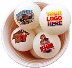 custom ping pong balls great for table tennis ping pong