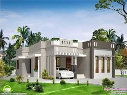 Single Floor 4 Bedroom House Plans by Modern Single Floor Kerala Villa At 1350 Sqft Single Floor House