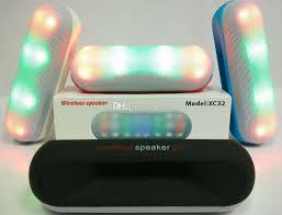 light up portable speaker led speaker xc32 wireless speakers pill speaker pulse led light