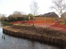canap banc canal bank restoration complete chichester canal