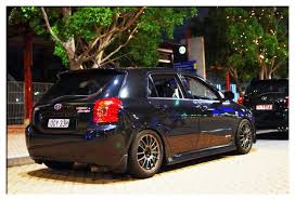 toyota corolla sportivo for sale fs used lowered kmac springs to suit 05 corolla sportivo