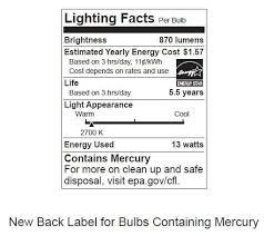 fluorescent l disposal cost compact fluorescent light bulbs cfls us epa