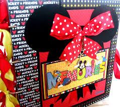 minnie mouse photo album minnie mouse scrapbook album my crafts minnie